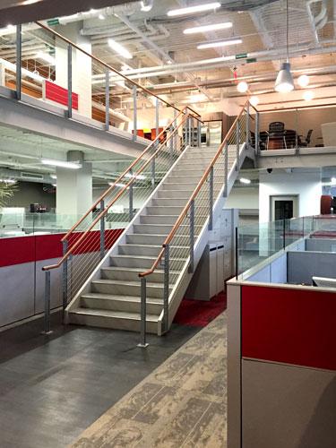 NACA-Mezzanine Stair