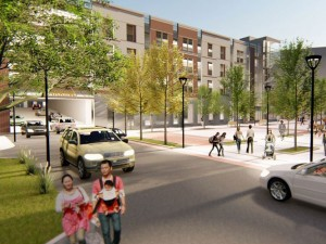 Quincy Garage Plaza Rendering